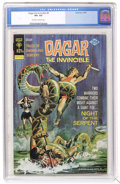 Bronze Age (1970-1979):Miscellaneous, Dagar the Invincible #9 (Gold Key, 1974) CGC VF+ 8.5 Off-white towhite pages....