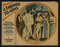 "Movie Posters:Drama, A Farewell To Arms (Paramount, 1932). Lobby Card (11"" X 14""). Drama...."