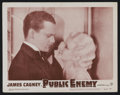 """Movie Posters:Crime, The Public Enemy (Warner Brothers, R-1954). Lobby Card (11"""" X 14""""). Crime...."""