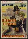 "Movie Posters:Adventure, The Elusive Pimpernel (British Lion, 1950). Belgian (14"" X 19"").Adventure...."