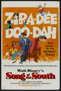 "Movie Posters:Animated, Song of the South (Buena Vista, R-1972). One Sheet (27"" X 41""). Animated...."