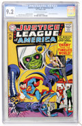 Silver Age (1956-1969):Superhero, Justice League of America #33 (DC, 1965) CGC NM- 9.2 Off-white to white pages....