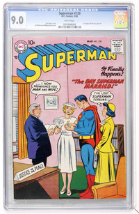 Superman #120 (DC, 1958) CGC VF/NM 9.0 White pages