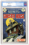 Bronze Age (1970-1979):Horror, Secrets of Sinister House #16 (DC, 1974) CGC NM+ 9.6 Off-white towhite pages....