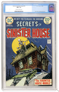 Secrets of Sinister House #16 (DC, 1974) CGC NM+ 9.6 Off-white to white pages