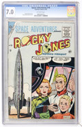 Golden Age (1938-1955):Science Fiction, Space Adventures #18 (Charlton, 1955) CGC FN/VF 7.0 Off-whitepages....