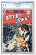 Golden Age (1938-1955):Science Fiction, Space Adventures #17 (Charlton, 1955) CGC NM 9.4 Cream to off-whitepages....