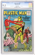 Golden Age (1938-1955):Superhero, Plastic Man #54 (Quality, 1955) CGC NM- 9.2 Off-white pages....