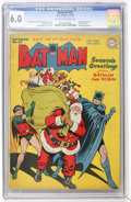 Golden Age (1938-1955):Superhero, Batman #27 (DC, 1945) CGC FN 6.0 Off-white to white pages....