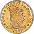 Early Quarter Eagles, 1798 $2 1/2 AU58 NGC....