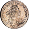 Early Dimes, 1804 10C 14 Stars on Reverse AU58 NGC. CAC....