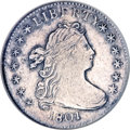 Early Dimes, 1801 10C AU Details, Improperly Cleaned NCS. ...