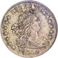 Early Dimes, 1804 10C 13 Stars on Reverse AU55 NGC....