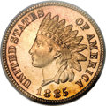 Proof Indian Cents, 1885 1C PR67 Red PCGS....