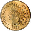 Proof Indian Cents, 1878 1C PR67 Red PCGS....