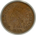 1882 1C MS62 Brown ANACS. NGC Census: (8/208). PCGS Population (3/64). Mintage: 38,581,100. Numismedia Wsl. Price for NG...