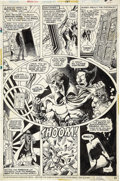 Original Comic Art:Panel Pages, Jim Starlin and Al Milgrom Strange Tales #181 Warlock page22 Original Art (Marvel, 1975)....