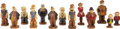 Memorabilia:Comic-Related, Comic Character Multi-Product Figurine Group (King FeaturesSyndicate, 1944-45).... (Total: 13 Items)