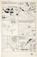 Original Comic Art:Panel Pages, Jack Kirby and Paul Reinman X-Men #1 page 20 Original Art(Marvel, 1963)....
