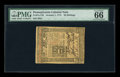 Colonial Notes:Pennsylvania, Pennsylvania October 1, 1773 50s PMG Gem Uncirculated 66 EPQ....