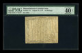 Colonial Notes:Massachusetts, Massachusetts August 18, 1775 24s PMG Extremely Fine 40 NET....