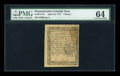 Colonial Notes:Pennsylvania, Pennsylvania April 10, 1777 6d PMG Choice Uncirculated 64....
