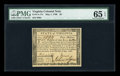 Colonial Notes:Virginia, Virginia May 1, 1780 $4 PMG Gem Uncirculated 65 EPQ....