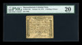 Colonial Notes:Massachusetts, Massachusetts October 16, 1778 1s/6d PMG Very Fine 20....