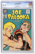 Golden Age (1938-1955):Adventure, Joe Palooka Comics #88 (Harvey, 1955) CGC VF 8.0 Off-white to white pages....