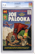 Silver Age (1956-1969):Adventure, Joe Palooka Comics #95 (Harvey, 1956) CGC VF- 7.5 Cream to off-white pages....