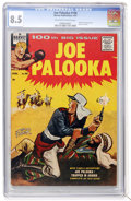 Silver Age (1956-1969):Adventure, Joe Palooka Comics #100 (Harvey, 1957) CGC VF+ 8.5 Off-white to white pages....