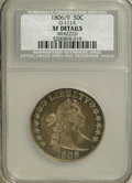 Early Half Dollars, 1806 50C 6 Over Inverted 6, O-111a, R.4--Whizzed--NCS. XFDetails....