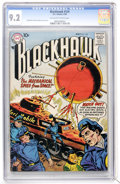Silver Age (1956-1969):Adventure, Blackhawk #124 (DC, 1958) CGC NM- 9.2 Off-white to white pages....