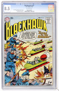 Silver Age (1956-1969):Adventure, Blackhawk #121 (DC, 1958) CGC VF+ 8.5 Off-white pages....