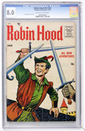 Silver Age (1956-1969):Adventure, Robin Hood #53 (#2) (Magazine Enterprises, 1956) CGC VF 8.0 Off-white to white pages....