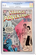 Silver Age (1956-1969):Science Fiction, Strange Adventures #87 (DC, 1957) CGC VF 8.0 Cream to off-whitepages....