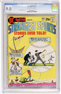 Bronze Age (1970-1979):Miscellaneous, DC Special #9 Strangest Sports Stories Ever Told! (DC, 1970) CGCVF/NM 9.0 Off-white to white pages....