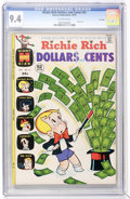 Bronze Age (1970-1979):Humor, Richie Rich Dollars and Cents #51 File Copy (Harvey, 1972) CGC NM9.4 Off-white pages....