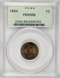 Proof Indian Cents: , 1884 1C PR65 Red and Brown PCGS. PCGS Population (102/53). NGC Census: (84/59). Mintage: 3,942. Numismedia Wsl. Price for N...