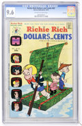 Bronze Age (1970-1979):Humor, Richie Rich Dollars and Cents #63 File Copy (Harvey, 1974) CGC NM+9.6 Off-white to white pages....