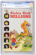 Bronze Age (1970-1979):Cartoon Character, Richie Rich Millions #47 File Copy (Harvey, 1971) CGC NM 9.4Off-white to white pages....