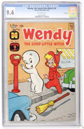Silver Age (1956-1969):Cartoon Character, Wendy, the Good Little Witch #18 File Copy (Harvey, 1963) CGC NM 9.4 Off-white pages....