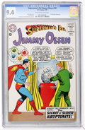 Silver Age (1956-1969):Superhero, Superman's Pal Jimmy Olsen #70 (DC, 1963) CGC NM 9.4 Off-white to white pages....