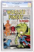 Silver Age (1956-1969):Superhero, World's Finest Comics #127 (DC, 1962) CGC NM 9.4 Off-white to white pages....