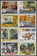 """Movie Posters:Fantasy, Santa Claus Conquers the Martians Lot (Embassy, 1964). Lobby Cards (13) and Title Lobby Card (11"""" X 14""""). Fantasy.... (Total: 14 Items)"""