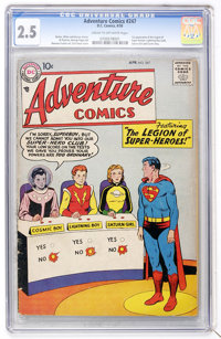 Adventure Comics #247 (DC, 1958) CGC GD+ 2.5 Cream to off-white pages