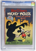 Golden Age (1938-1955):Cartoon Character, Four Color (Series One) #16 Mickey Mouse (Dell, 1941) CGC GD 2.0 Cream to off-white pages....