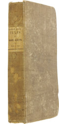 Books, Mary Austin Holley. Texas. Lexington, Ky: J. Clarke &Co., 1836. First edition. 8vo. viii, 410 pp. Tipped-in hand-ti...