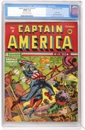 Golden Age (1938-1955):Superhero, Captain America Comics #7 (Timely, 1941) CGC FN/VF 7.0 Cream to off-white pages....