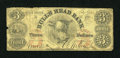 Obsoletes By State:New York, New York, NY- Bull's Head Bank $3 May 16, 1863. ...